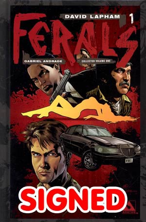Ferals Vol 1 HC Signed Limited Edition