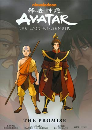 Avatar The Last Airbender The Promise Library Edition HC