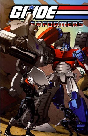 GI Joe Transformers Vol 2 TP