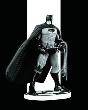 Batman Black & White Series Original Mini Statue By Frank Miller 2nd Edition
