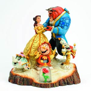Disney Traditions Beauty & The Beast Figurine