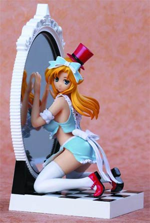 Fairy Tale Figure Vol 3 Alice In The Mirror World PVC Figure Blue Dress Version