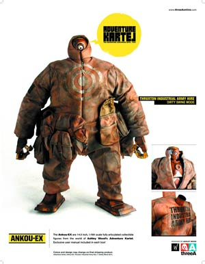 Adventure Kartel Ankou-Ex 1/6 Scale Figure - Thruxton Industrial Army Hive Dirty Swine Version