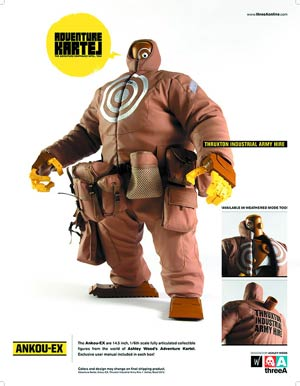 Adventure Kartel Ankou-Ex 1/6 Scale Figure - Thruxton Industrial Army Hive Regular Version