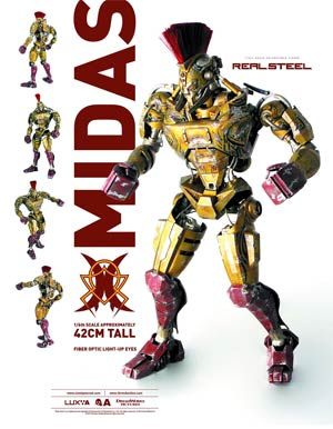Real Steel Midas 1/6 Scale Figure