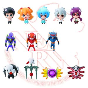 Evangelion Revival Of Shito Chara Fortune Mini Figure Blind Mystery Box