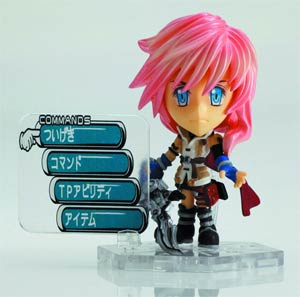 Final Fantasy Trading Arts Kai Mini Figure - Lightning