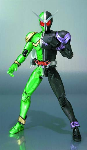 Kamen Rider S.H.Figuarts - Double Cyclone Joker (Kamen Rider W) Action Figure Re-Issue Version