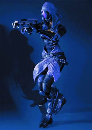 Mass Effect 3 Play Arts Kai Tali Zora vas Normandy Action Figure