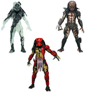 DO NOT USE (DNO) Predators Series 7 Action Figure Assortment Case