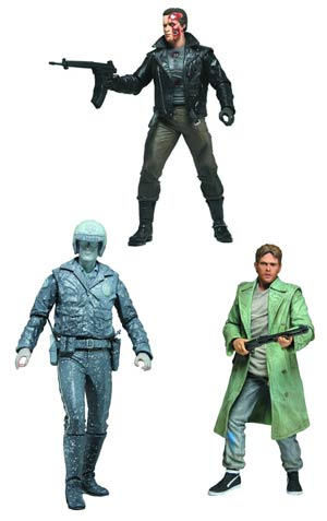 DO NOT USE (DNO) Terminator Collection Series 3 7-Inch Action Figure Assortment Case