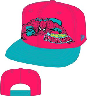 Hero Stance Spider-Man Snap Back Cap