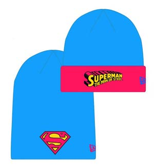 DC Heroes Flip Knit Cap - Superman