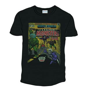 Legion Of Monsters Previews Exclusive Black T-Shirt Large