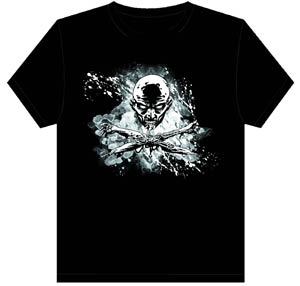 Walking Dead Skull & Crossbones T-Shirt Large
