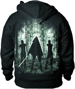 Walking Dead Michonne Previews Exclusive Zip-Up Hoodie Medium