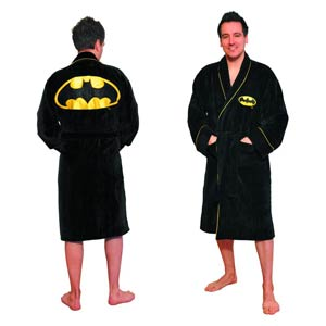 Batman Symbol Bathrobe - Fleece