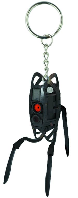 Portal Molded Keychain - Defective Turret