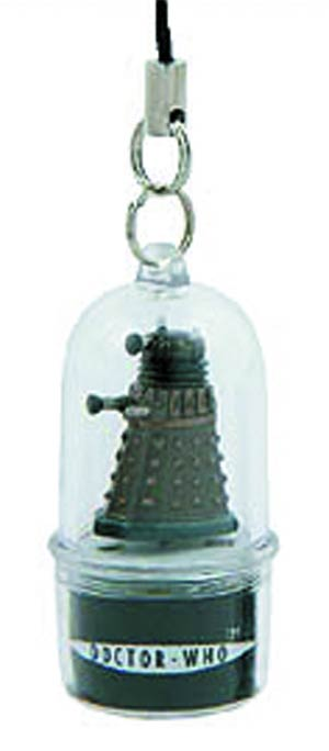 Doctor Who Rotating LED Cell Phone Charm - Dalek