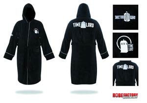 Doctor Who Bathrobe - Time Lord