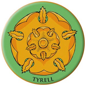 Game Of Thrones Embroidered Patch - Tyrell