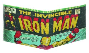 Marvel Heroes Genuine Leather Wallet - Iron Man