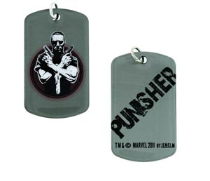 Marvel Heroes Dog Tag - Punisher Crossed Guns