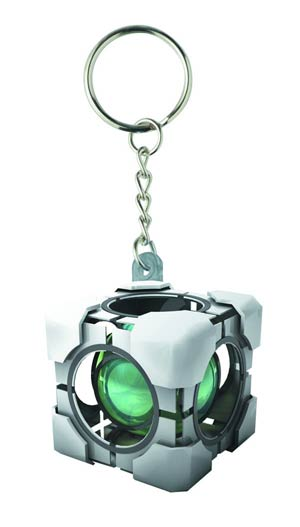 Portal Molded Keychain - Refracting Box