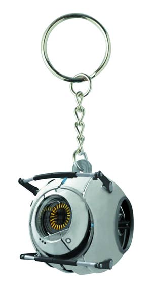 Portal Molded Keychain - Space Sphere