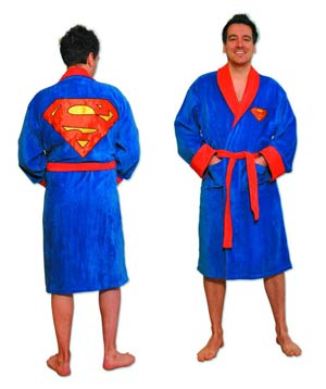 Superman Symbol Bathrobe - Cotton