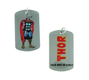Marvel Heroes Dog Tag - Thor Dog Tag Pendant