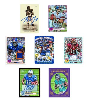 Topps 2012 Magic Football Trading Cards Box