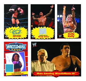 Topps 2012 WWE Heritage Trading Cards Box