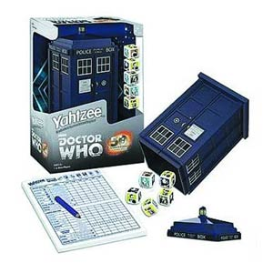 Yahtzee Doctor Who Collectors Edition Dice Game