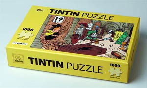 Tintin Puzzle - Treasures At Marlinspike