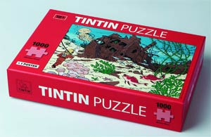 Tintin Puzzle - Shipwreck Of The Unicorn