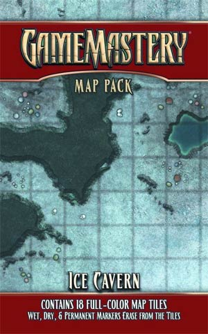 Gamemastery Map Pack - Ice Cavern