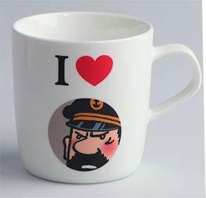Tintin Mug - I Love Haddock