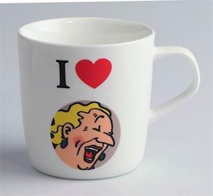 Tintin Mug - I Love Snowy