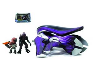 Halo 4 Die-Cast Banshee With 2-Inch Figures