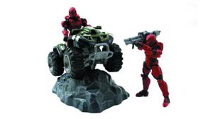 Halo 4 Die-Cast Mongoose With 2-Inch Figures
