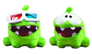 Cut The Rope 5-Inch Pose-N-Play Plush Assortment Case