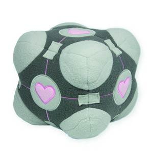 Portal Companion Cube Plush