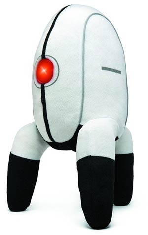 Portal Turret Plush With Sound