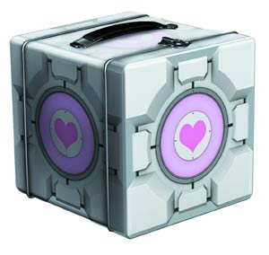 Portal 2 Companion Cube Tin Lunchbox