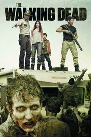 Walking Dead Season 2 Attack The RV Poster (3134)