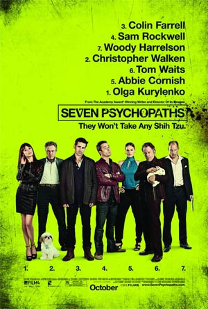 Seven Psychopaths Blu-ray DVD