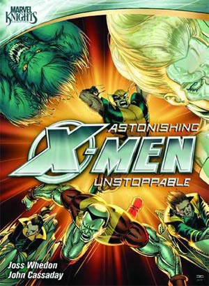 Marvel Knights Astonishing X-Men Unstoppable Motion Comic DVD