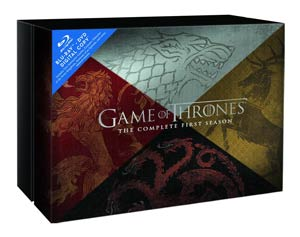 Game Of Thrones The Complete Season 1 Premium Limited Edition Blu-ray Combo DVD