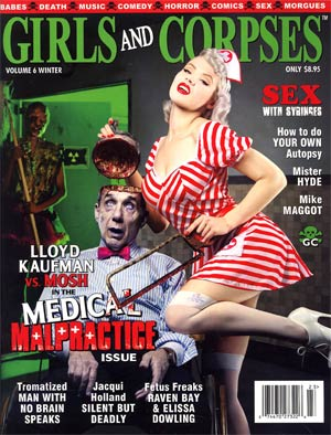 Girls And Corpses Magazine Vol 6 Winter 2012
